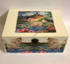 Unicorn Keepsake/memory Box